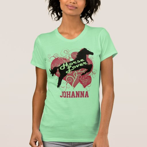 Horse Lover Personalized Johanna Tank