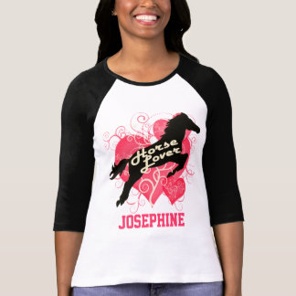 Horse Lover Personalized Josephine T Shirts