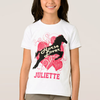 Horse Lover Personalized Juliette T-Shirt