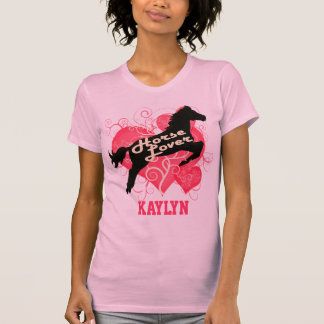 Horse Lover Personalized Kaylyn Tshirt