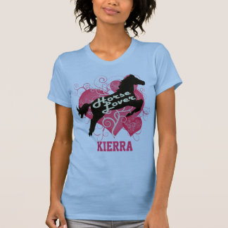 Horse Lover Personalized Kierra Tee Shirts