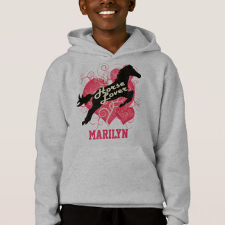 Horse Lover Personalized Marilyn Hoodie