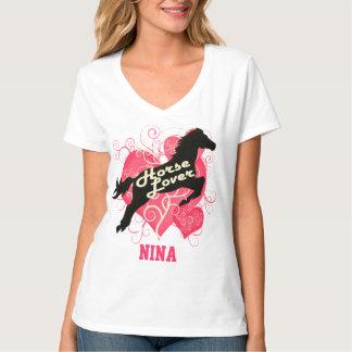 Horse Lover Personalized Nina Customized Shirt