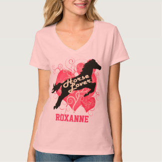 Horse Lover Personalized Roxanne Customized Shirt