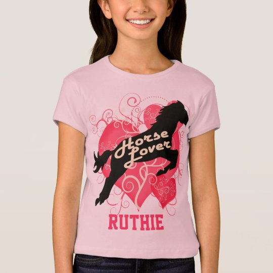 Horse Lover Personalized Ruthie Customized Shirt
