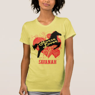 Horse Lover Personalized Savanah Customized Shirt