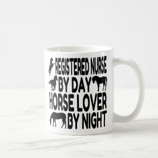 Horse Lover Registered Nurse Coffee Mug