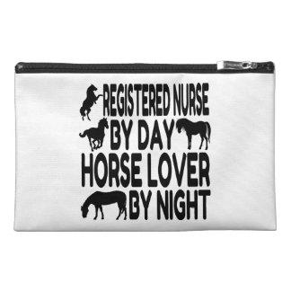 Horse Lover Registered Nurse Travel Accessories Bag