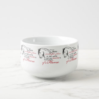Horse Lover Soup Mug