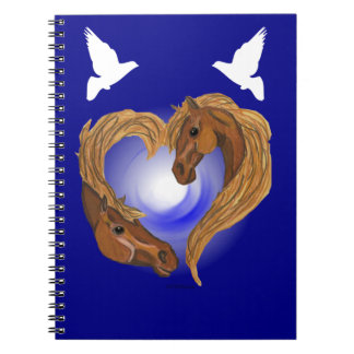 Horse Lover Spiral Notebook