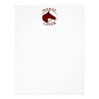 HORSE LOVER STATIONERY