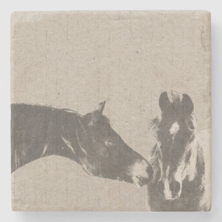 Horse Lover Stone Beverage Coaster