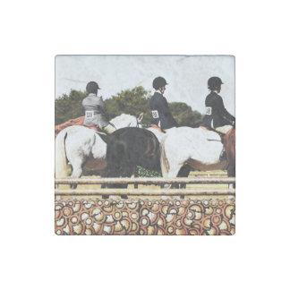 Horse Lover Stone Magnet