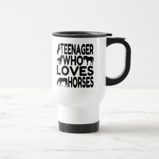 Horse Lover Teenager Travel Mug