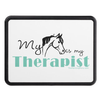 Horse Lover Trailer Hitch Cover
