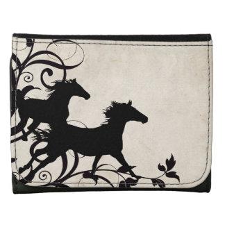 Horse Lover Tri-fold Wallet