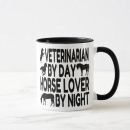 Horse Lover Veterinarian Mug