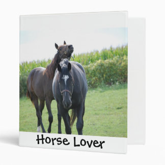 Horse Lovers 3 Ring Binder