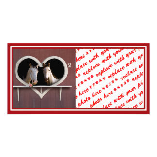 Horse Lovers (Add Your Text) Card