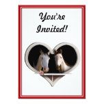 Horse Lovers (Add Your Text) 5x7 Paper Invitation Card