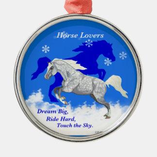 Horse Lovers Dream Big Ornament