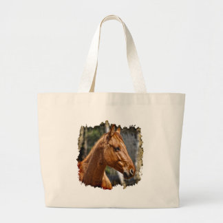 Horse-lover's Equine Animal Design Tote Bags