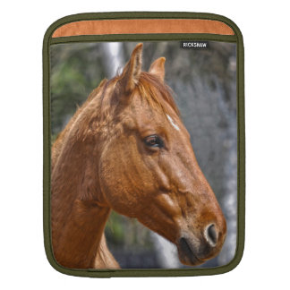 Horse-lover's Equine Animal Design Sleeve For iPads