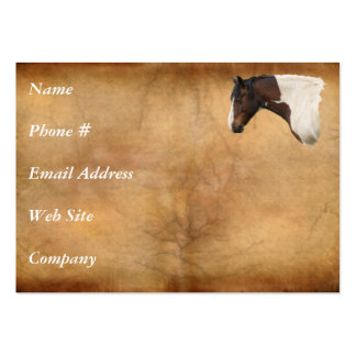 Horse-lover's Equine Animal-lover's Gift Large Business Cards (Pack Of 100)