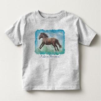 Horse-lover's Equine Animal-lover's Gift Toddler T-shirt
