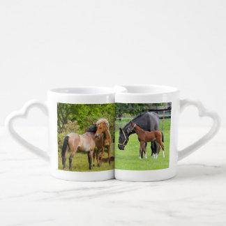 Horse Lovers Funny custom mug set
