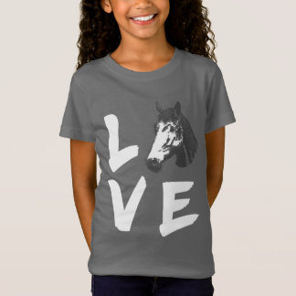 Horse Lovers Horsey Graphic T-Shirt