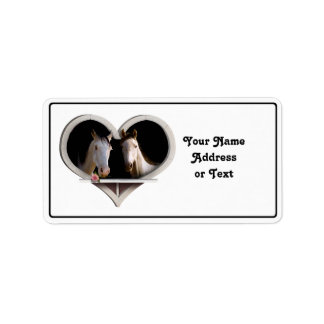 Horse Lovers Label