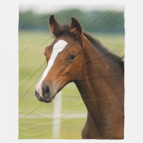 Horse lovers Large Fleece Blanket