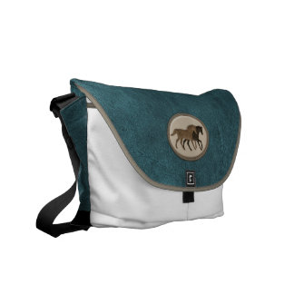 Horse Lover's Suede Commuter Bags