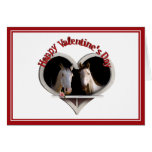 Horse Lovers Valentine Greeting Card