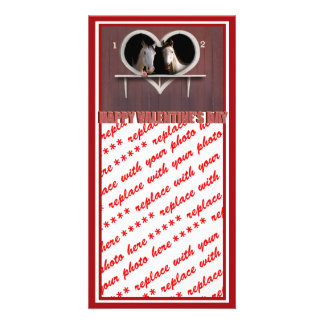Horse Lovers Valentine Photo Card