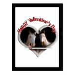 Horse Lovers Valentine Postcards