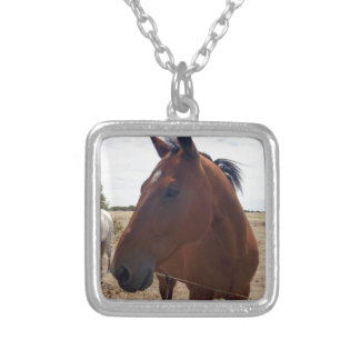 Horse_Magic,_ Silver Plated Necklace