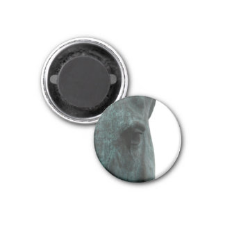 Horse 1 Inch Round Magnet