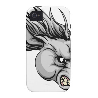 Horse mascot character Case-Mate iPhone 4 covers