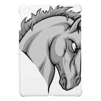 Horse mascot character iPad mini covers