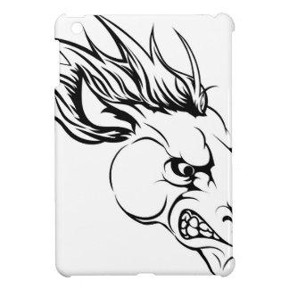 Horse mascot character iPad mini case
