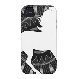 HORSE MAYA CUSTOMMIZABLE PRODUCTS iPhone 4/4S COVERS
