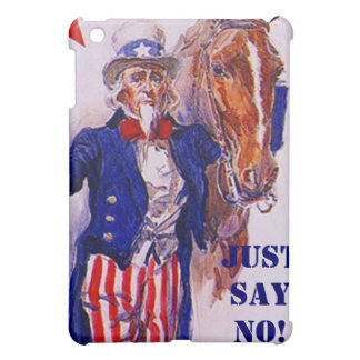 Horse Meat Slaughter Just Say No Campaign UncleSam Case For The iPad Mini