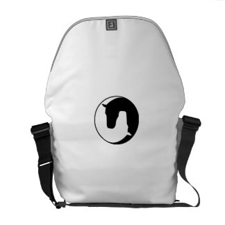 horse messenger bag