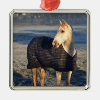 horse metal ornament