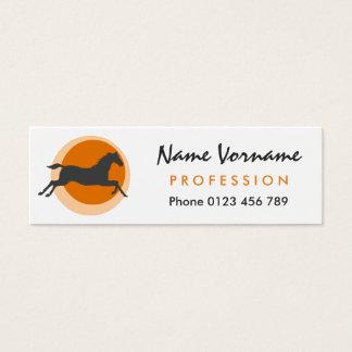 Horse Mini Business Card