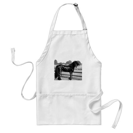 Horse modelling adult apron