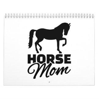 Horse mom calendar