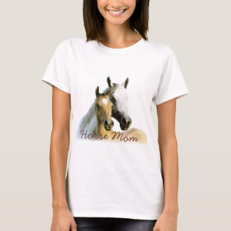 Horse Mom Ladies T-Shirt